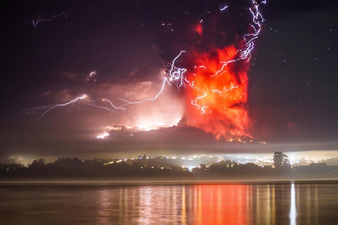 truenos volcánicos