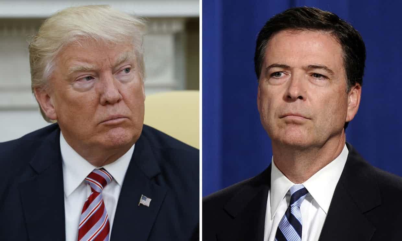 Trump insta a procesar a exdirector del FBI Comey por 'mentir'