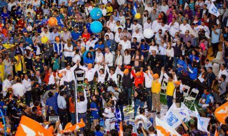 coalición Por México al Frente realiza evento