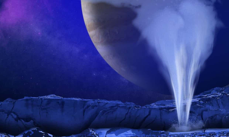 Hallan nueva evidencia de agua en luna de Júpiter