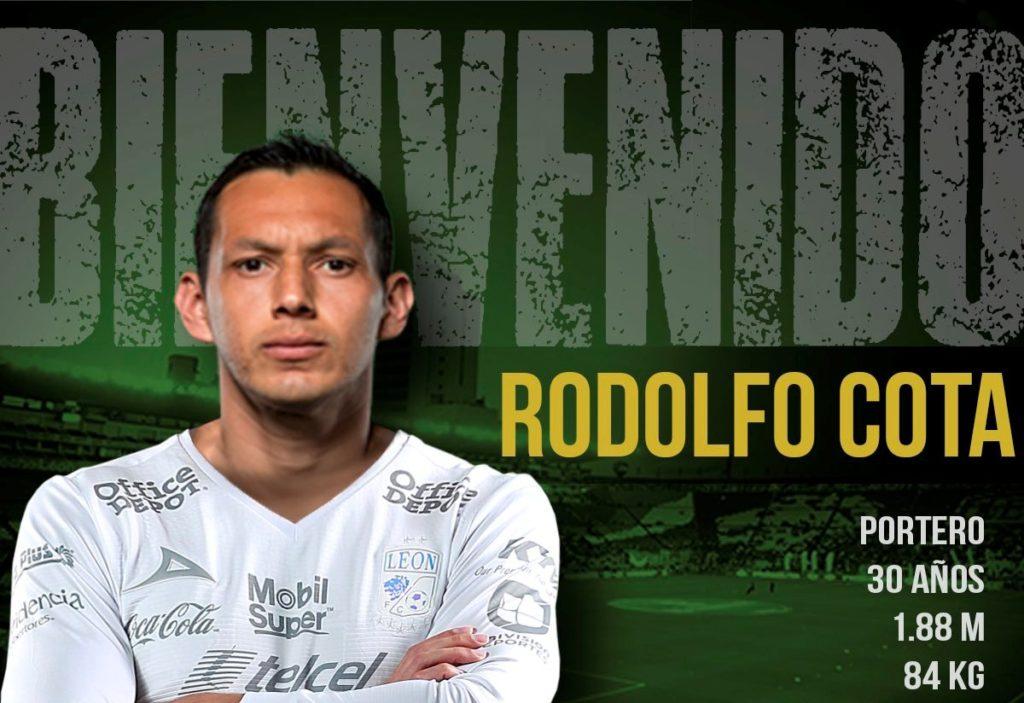 ¡Oficial! Rodolfo Cota defenderá la portería del León