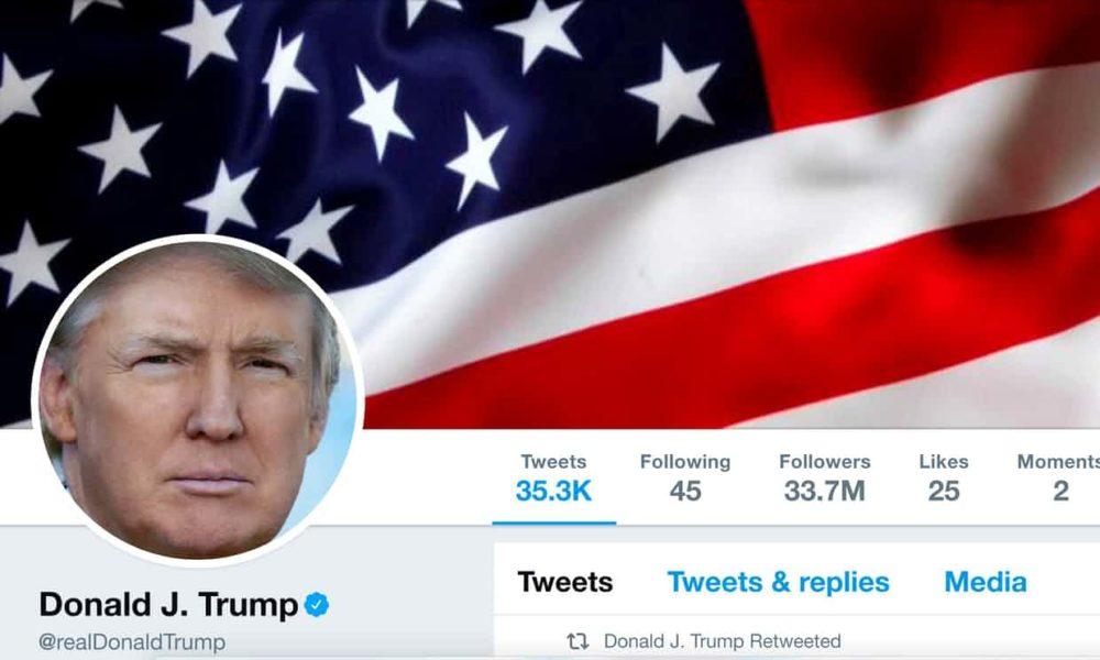 Trump bloquear