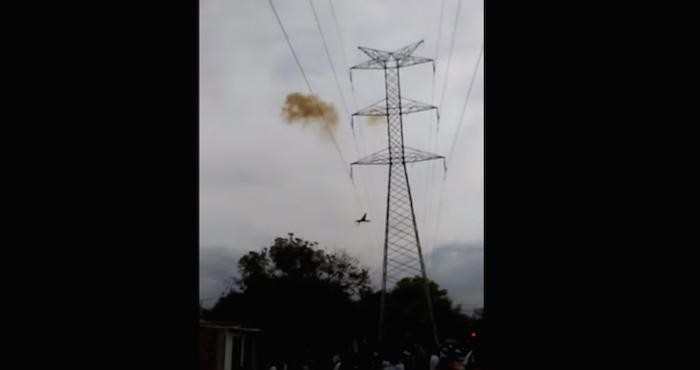Sordomudo murió fulminado al intentar bajar de torre de alta tensión