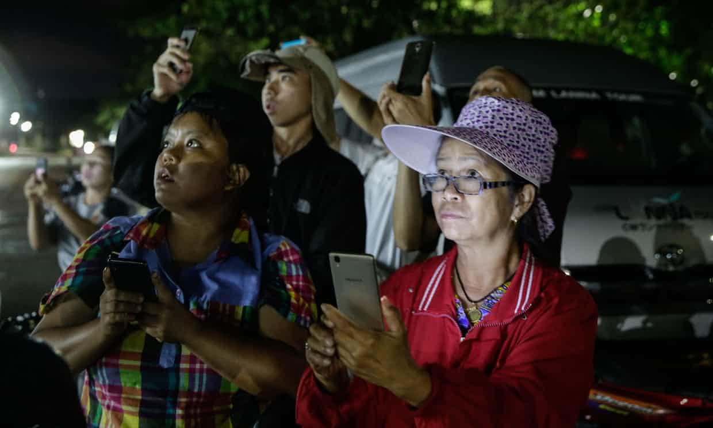 Ya han rescatado a cuatro de los 12 niños de la cueva de Tailandia