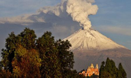 Volcán, popocatepetl