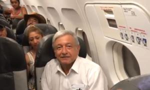 AMLO, avión presidencial, CDMX