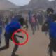 Sudáfrica, pelea, machetes