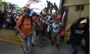 migrantes, Guatemala, frontera