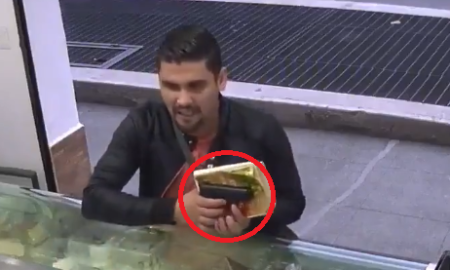 panadería, asalto, biblia