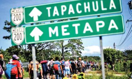 Chiapas, Honduras, migrantes
