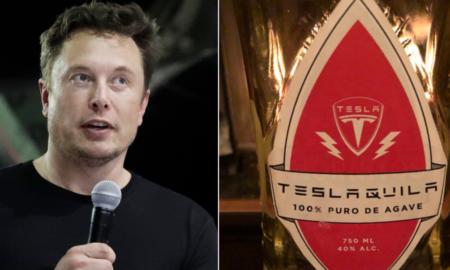 Elon Musk, tequila, Tesla