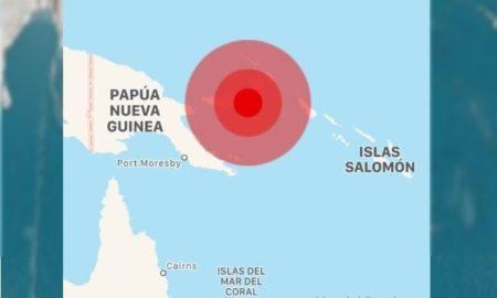 sismo, tsunami, Nueva Guinea