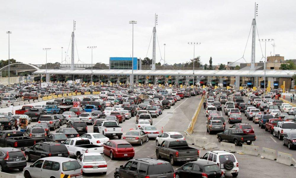 cruce, frontera, México, Estados Unidos