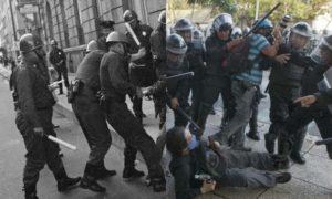 granaderos, policía, CDMX