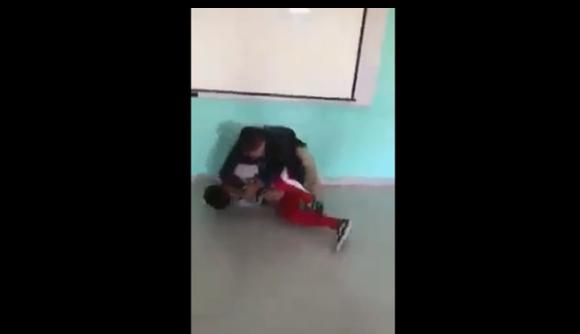 pelea, maestro, alumno, Guanajuato