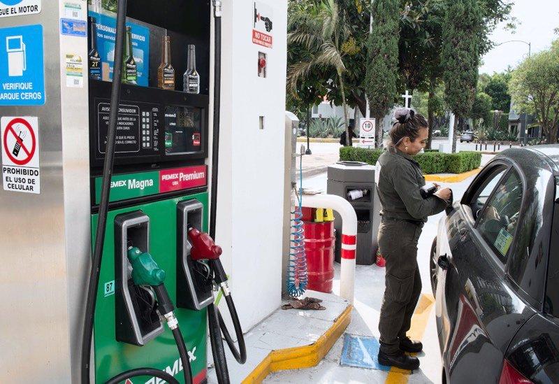 gasolina, diésel, IVA, ISR, frontera