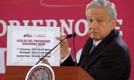 AMLO, salario, austeridad, México