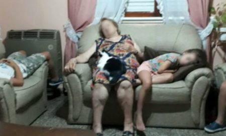 abuela, abuso sexual, robo, Argentina