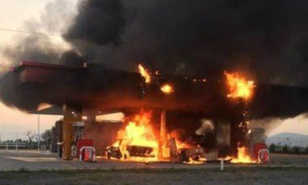 incendio, Jalisco, gasolinera, Bomberos y Protección Civil,
