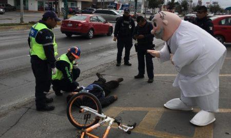 Simi, atropellado, Tamaulipas, paramédicos