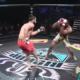 luchador, MMA, Estados Unidos, pierna