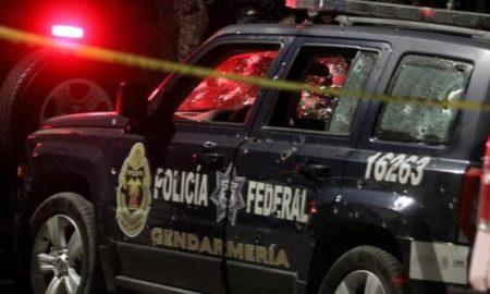 Gendarmería Nacional, Policía Federal, México, emboscada, Puebla