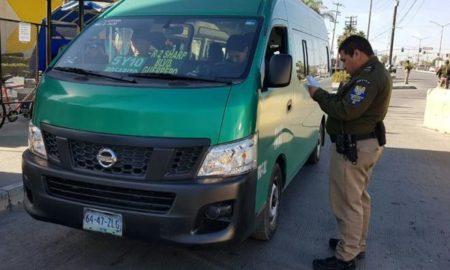 transporte público, Tijuana, taxis de ruta, reglamento