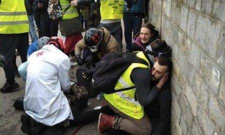 viral, París, protesta