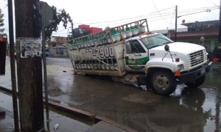 gas, socavón, Tijuana, lluvias