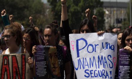 UNAM, acoso, baños