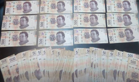 Tijuana, cajero, dinero, policía