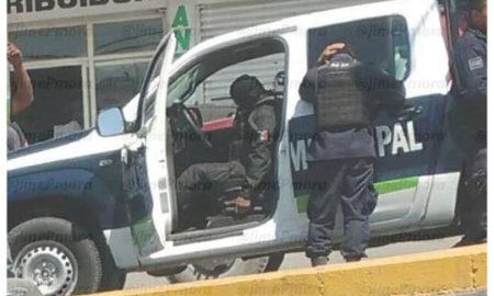 Puebla, disparo, policía, asesinato