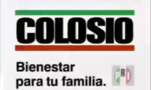 Colosio, asesinato, muerte, spot, PRI