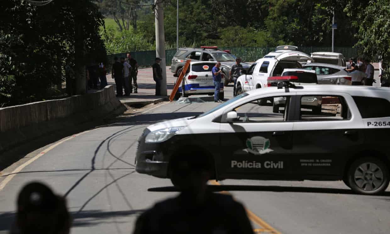 policía asaltantes