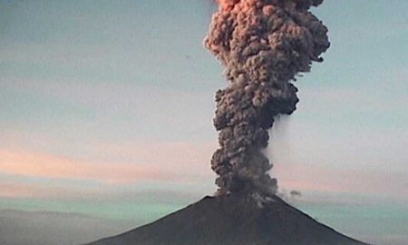 popocatépetl, volcan, ceniza, explosion, volcan popocatepetl