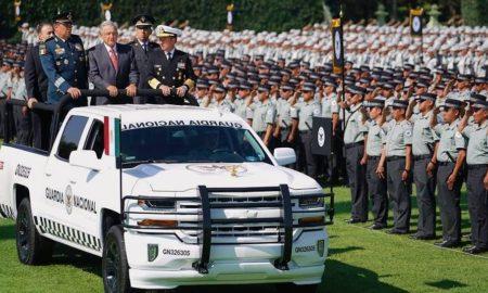 guardia nacional, amlo, ceremonia, presidente, méxico