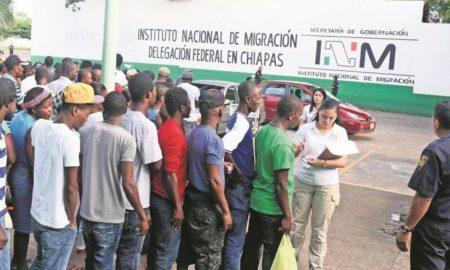 migrantes, inm, chiapas, guatemala, detención