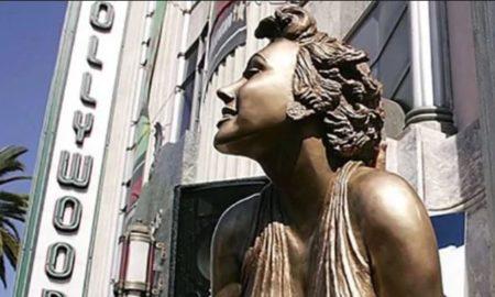 marilyn monroe, estatua, robo, hollywood, los angeles, monumentos