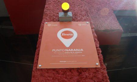 punto naranja, local, violencia contra la mujer, Tijuana