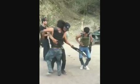 menores, armas largas, bailan, video, viral, narco