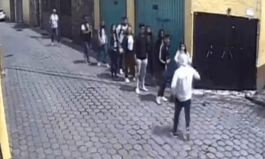 video, viral, asaltantes, estudiantes, tlalpan, ciudad de méxico