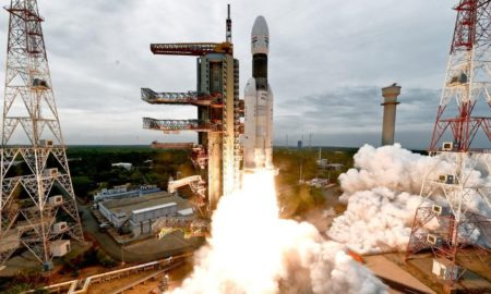 cohete, espacial, luna, rover, india, espacio