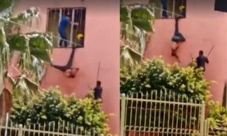 piñata, ladron, casa, policia