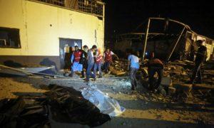 libia, ataque, bombardeo, migrante, trípoli, destacados