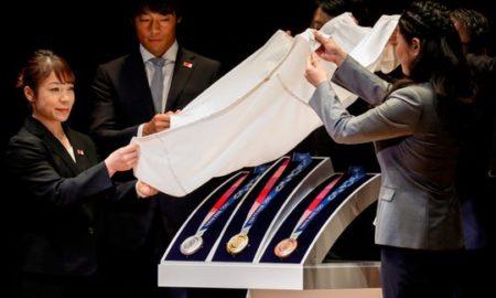 medallas, reciclaje, tokio, 2020, juegos olímpicos