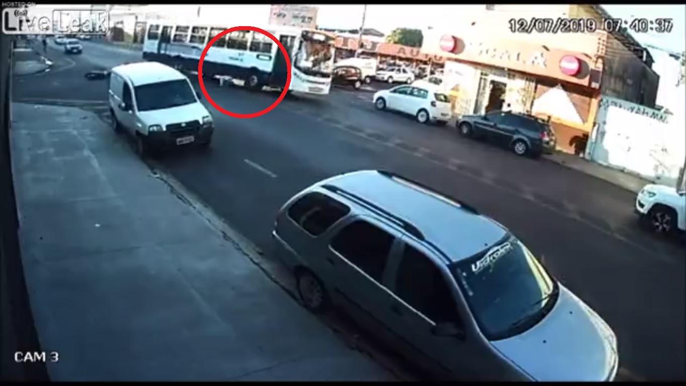 viral, video, atropellada, muere, motocicleta, accidente