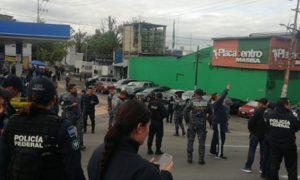 carretera, méxico-pachuca, policía federal, manifestación, destacados