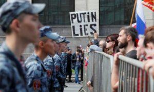 destacados, rusia, moscú, manifestación, elecciones