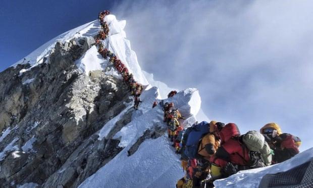 everest, nepal, montañismo, montaña, escalar, muertes