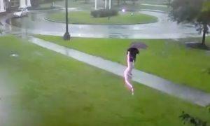 rayo, relámpago, tormenta eléctrica, video, viral, eeuu